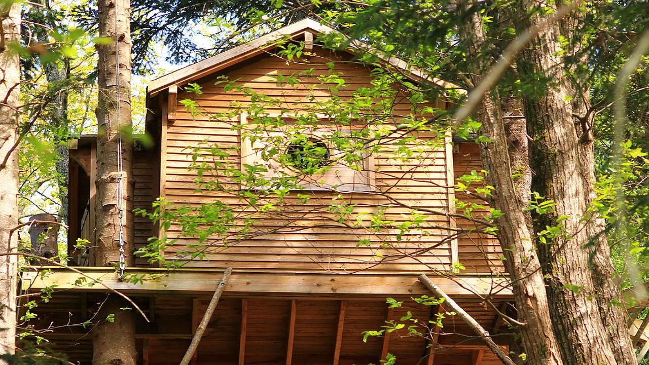 Domaine Oz'arbres - Cabane Perchée Dans Les Arbres