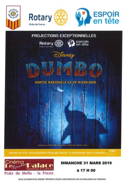 Dumbo – Projection spéciale pour la recherche sur le cerveau