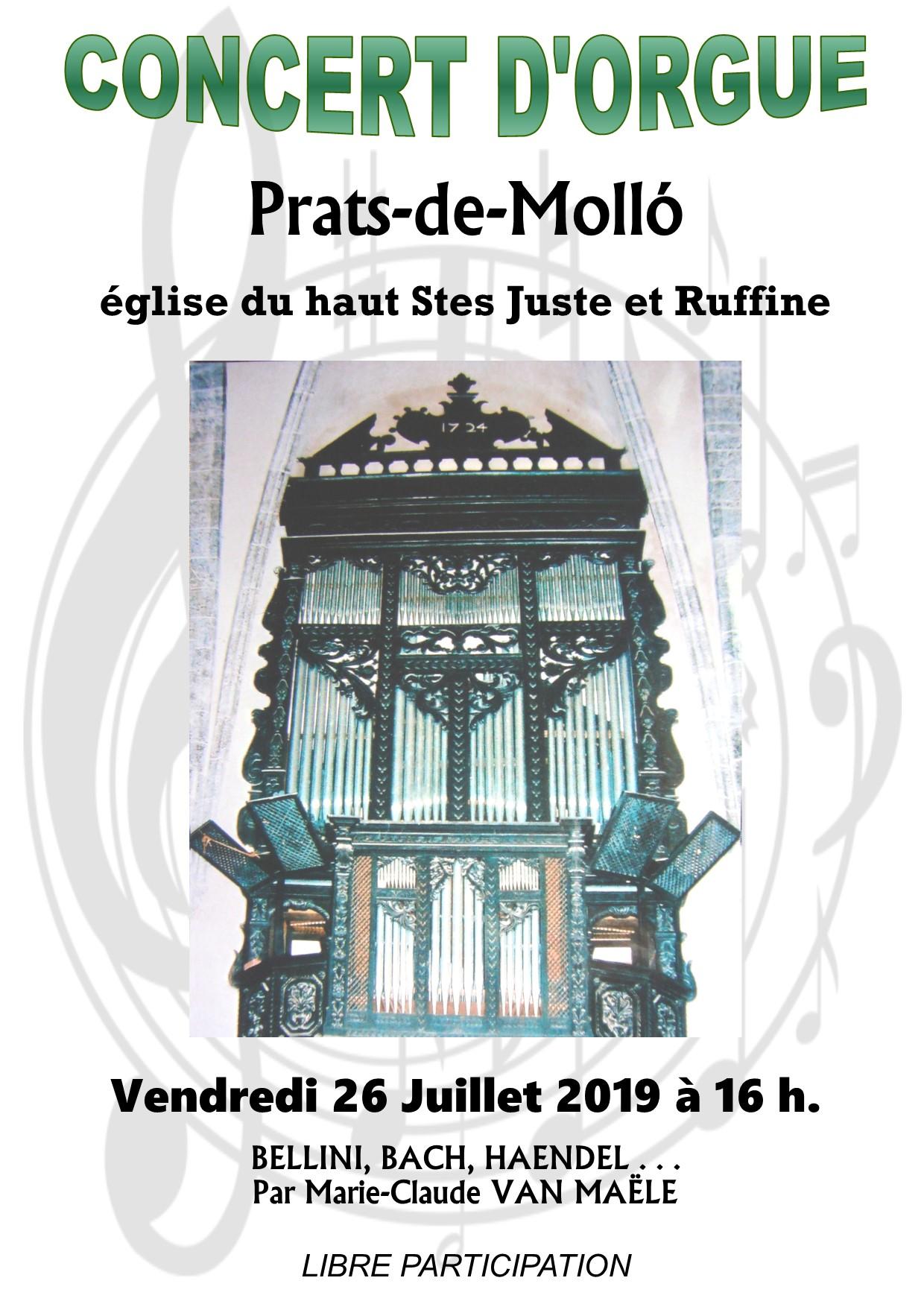 Concert d'orgues