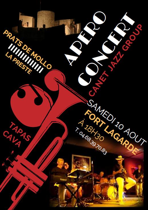 Apéro concert au Fort Lagarde