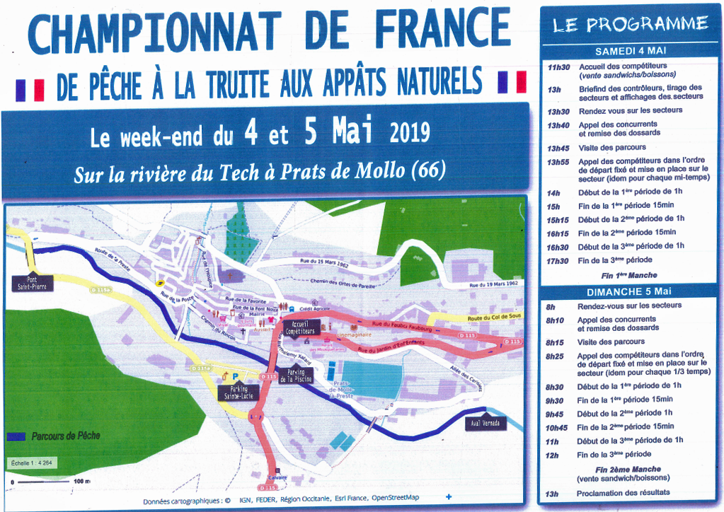Championnat de France de pêche à la truite aux appâts naturels