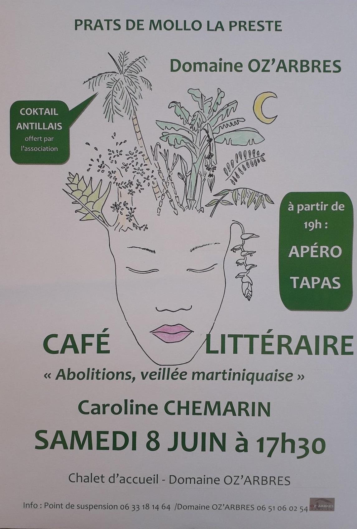Café littéraire «Abolitions» avec Caroline Chemarin