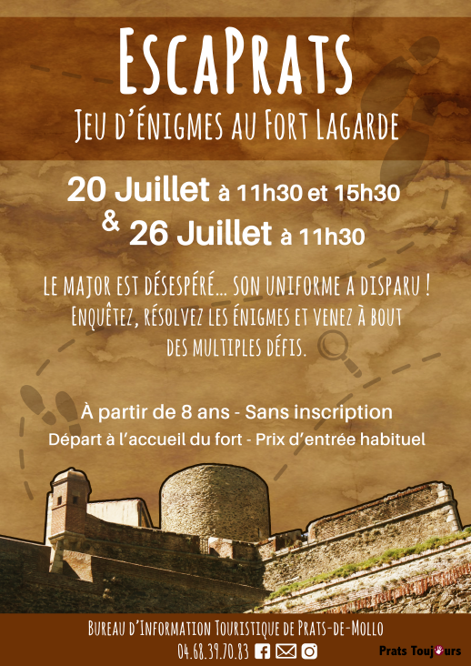 Escaprats au Fort Lagarde
