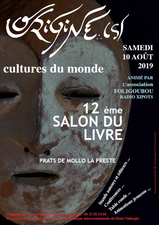 Salon du livre : Origines – Cultures du monde