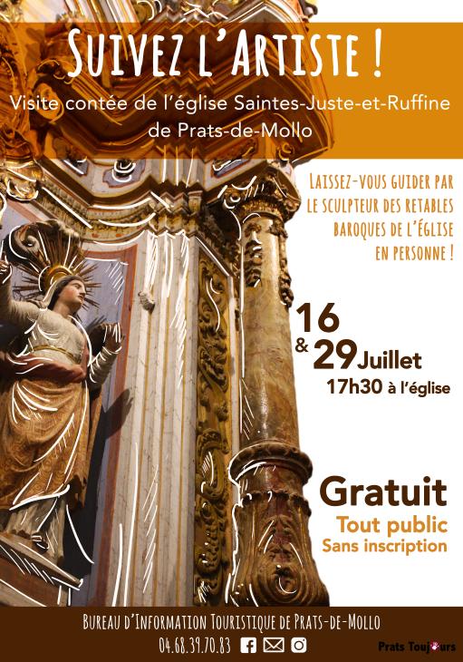 Visite contée de l'Eglise Saintes Juste et Ruffine