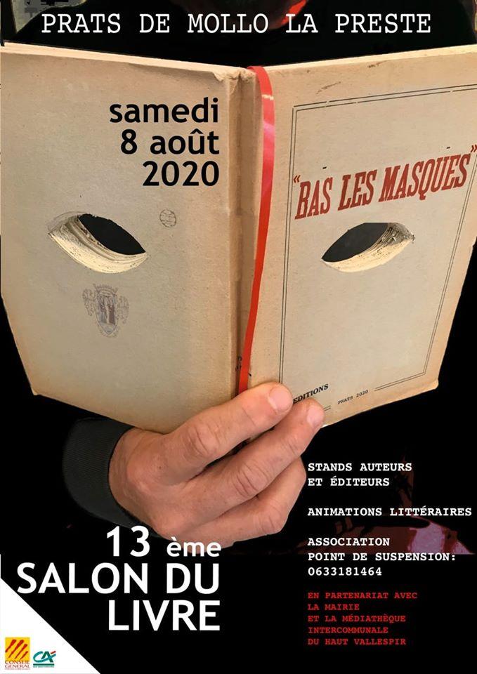 Salon du livre «Bas les masques»