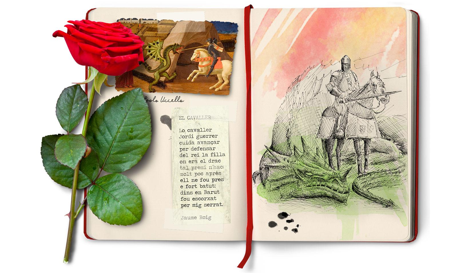 Balade littéraire spécial Sant Jordi