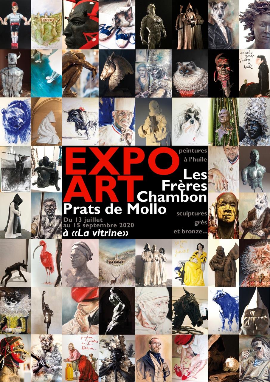 Exposition d'art des Frères Chambon