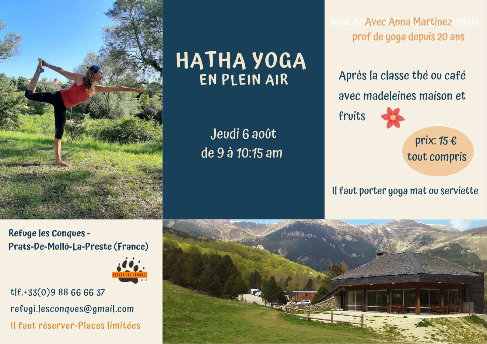 Hatha Yoga en plein air