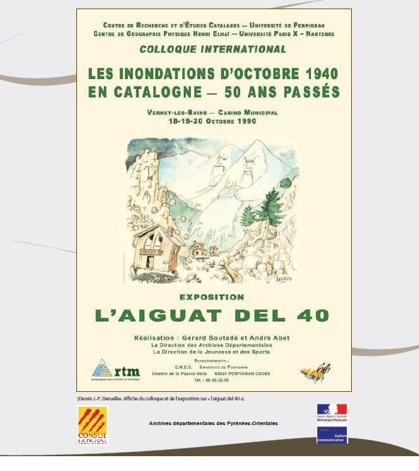 Exposition «L'Aiguat del 40 -Les inondations d'octobre 1944»